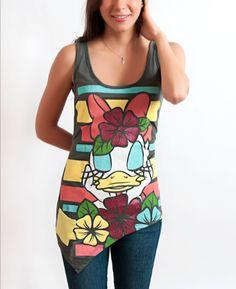 Daisy Duck  Tank  Summer  Casual  Fashion