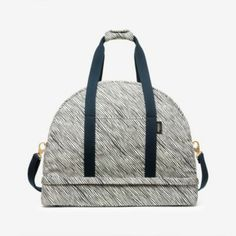 The Weekender Bag in Sideways Stripe | Kate Spade