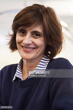 News Photo : Author Ines De La Fressange poses at the...