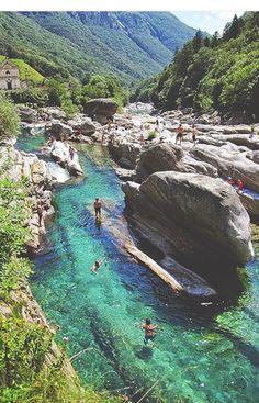 Valle verzarsca, Switzerland