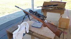 Friday at the range.  Bayou Rifles Addicks Range.   Shooting Suppressed .22s.  Anschutz and Element 2