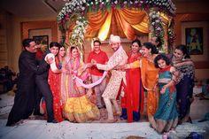 Photographer - Tuf-Of-War Time! Photos, Hindu Culture, Beige Color, Bridal Makeup, Groom Sherwani, Designer Groom Wear pictures, images, WeddingPlz