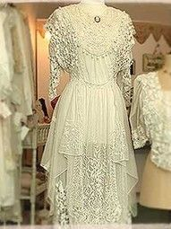 Antique Lace...a vision of romance and loveliness....
