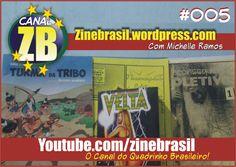 Canal ZB #005 - Resenhas de Quadrinhos - Turma da Tribo - Inconsequente Coletivo - Velta de Bolso