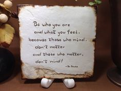 Be who you are . . . by Artsco on Etsy