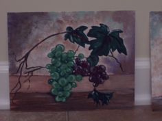 grapes, painting