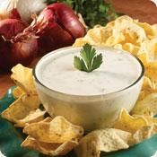 Onion dip with Greek Yogurt...Hmmm I wonder if you could just use Lipton's Onion Soup Mix and do the same thing?