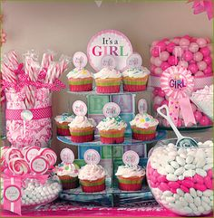 58 Best Baby Shower Candy Buffets Images Baby Shower Parties