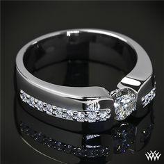 Custom Men's Diamond Wedding Ring   34604
