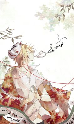 Natsume Yuujinchou by *iya-chen on deviantART. One of the most beautiful anime I have ever seen.