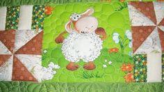 """Deky a přikrývky ruční práce.  Fair Masters - handmade dětské deky """"Funny ovce.""""  Ruční."""