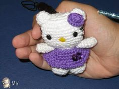 Little Hello Kitty Amigurumi, English Pattern