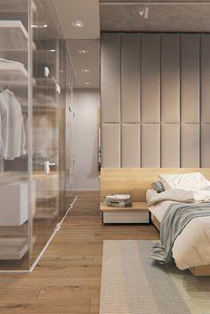 White apartment on Behance