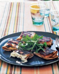 Grilled Mortadella and Robiola Packets - Mario Batali Recipes for the Grill from Food & Wine