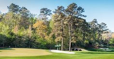 Amen Corner at Augusta National #beautifulgolfcourses #cartbarnguys #bunkersparadise #the18thgreen #whyilovethisgame #instagolf #golfporn