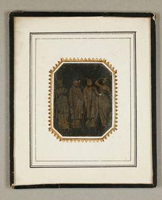Vier Figuren von Hans Gasser zum Hentzi Denkmal in Budapest (1851), 1851.