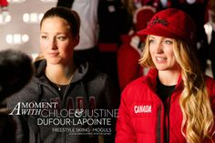 A Moment with Chloe & Justine Dufour-Lapointe | B Insider