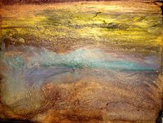 Large Fluid Acrylic Contemporary Abstract by HollyAndersonFineArt, $38.60