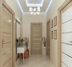 59 Best Ideas For Apartment Door Corridor Home Room Design, Home Interior Design, Living Room Designs, House Design, Living Rooms, Hallway Decorating, Interior Decorating, Solid Interior Doors, Plafond Design