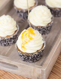 Fruit Cupcakes, Cupcake Cookies, Mini Cupcakes, Pin Up Style, Empanadas, Cupcake Recipes, Cake Pops, Frosting, Muffins