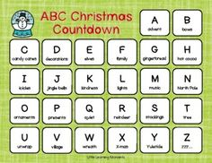 Christmas Activities For Toddlers, Toddler Activities, Christmas Countdown, Teacher Newsletter, Big Kids, Big Day, Free Printables, Alphabet, Holiday