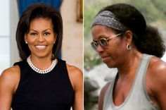 Fans Hail Michelle Obama As She Steps Out In Her Natural Hair (PHOTOS) - Nigerian Lastest News,Entertainment,Sports,Lifestyle And Celebrity Gossip Gist.ng