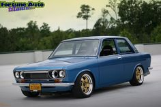 Datsun 510  I saw my first 510 when I was stationed in So Cal.  I've always loved these cars.