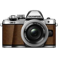 Olympus PEN E-PL8 Mirrorless Micro 4/3 Digital Camera with 14-42mm Lens (Brown)