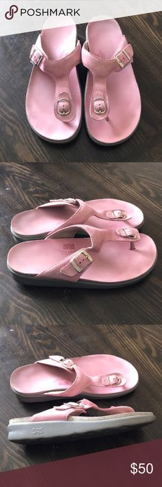 "SAS ""Sanibel"" light pink sandals Super comfy and cute. Great condition. SAS Shoes Sandals"