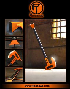 Timahawk is everything you need in a multi-tool  The amazing prepper tool The Timahawk is a combination crowbar, axe, tomahawk, ave hammer, hoe, and breaching tool....Thistools uses are only limited by the imagination of the user.  The weight and balance of this tool make it a MUST
