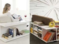 High & Low: Sofa Wrapping Storage Units