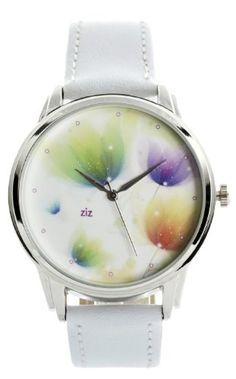 SALE ZIZ Tulips Flavor Watch Unisex Wrist Watch, Quartz Analog Watch with Leather Band ZIZ http://www.amazon.com/dp/B00KB7AW7I/ref=cm_sw_r_pi_dp_HE-fub1HJJBY0