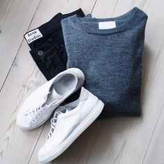 pulls for men inspiration grid style outfits mens outfit men's fashion style inspiration casual style Casual Wear, Casual Outfits, Men Casual, Fashion Outfits, Smart Casual, Daily Fashion, Mens Fashion, Style Fashion, Outfit Grid