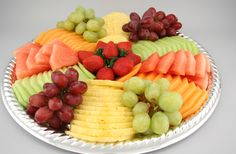 Beautiful Fruit Platters | Great Beginnings « Rochebros