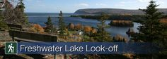 Cape Breton Highlands National Park - Freshwater Lake Look-off (view) Stuff To Do, Things To Do, Discover Canada, Cape Breton, Nova Scotia, Highlands, East Coast, Fresh Water, Trail