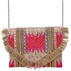 Fuunnky Bohemia Island Clutch. Eco? You know it. Gorgeous? Damn straight. Handmade and supporting Indian artisans! Buy now!