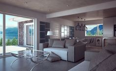 Small house plan with two bedrooms and spacious living room. Affordable building budget.