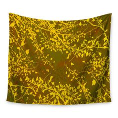 """East Urban Home Twigs Silhouette by Iris Lehnhardt Wall Tapestry Size: 50"""" H x 60"""" W"""