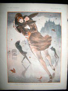 La Vie Parisienne Art Deco 1926 Il Y A Pepin Et Pepin by Armand Vallee