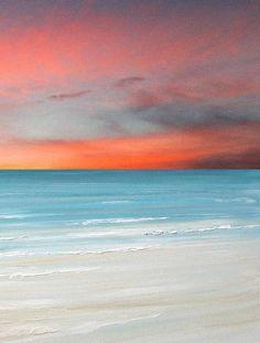 Beach decor, beach art painting print by Francine Bradette starting at 25.00 $