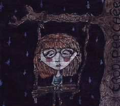 Illustration - Fanny Mazenoux - MAMIE LOUP http://mazenouxfanny.tumblr.com/ https://www.facebook.com/FannyMazenoux.Illustration