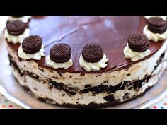 No-Bake OREO Cheesecake - Gemma's Bigger Bolder Baking Ep 54 - YouTube