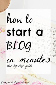 Learn how to start a blog/website for your business. Step by step guide for beginners! Make money with your blog today, just click on the link to find out more! http://www.frompenniestopounds.com/how-to-start-a-blog/