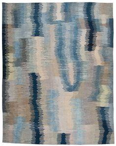 Loom Rugs - Old-Yarn-Kilim-Antique-Zig-Zag