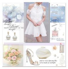 """Beautiful Moments"" by pumsiks ❤ liked on Polyvore featuring Eve Lom, Jimmy Choo, Thurley, ESPRIT, Rafe, Angelo and By Terry"