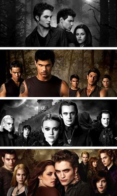 I love these  twilight movies... =) <3 TEAM JACOB... Sorry Edward.. :)