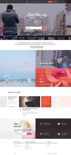Website home page large #webdesign #design