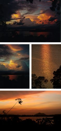 Sunset, Kandalama, Sri Lanka #SriLanka #Kandalama #Sunset