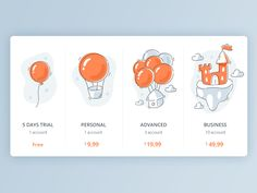 Pricing by Alexandrov Alexandr #Design Popular #Dribbble #shots