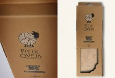 Diseño de marca y envase para plantillas de pelo de oveja